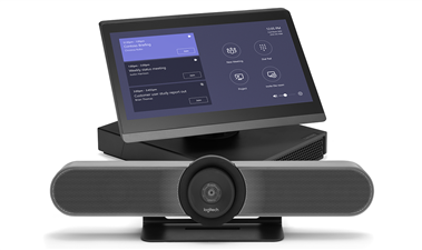 Shop the ThinkSmart Hub 500 Logitech MeetUp system for focus rooms Room system